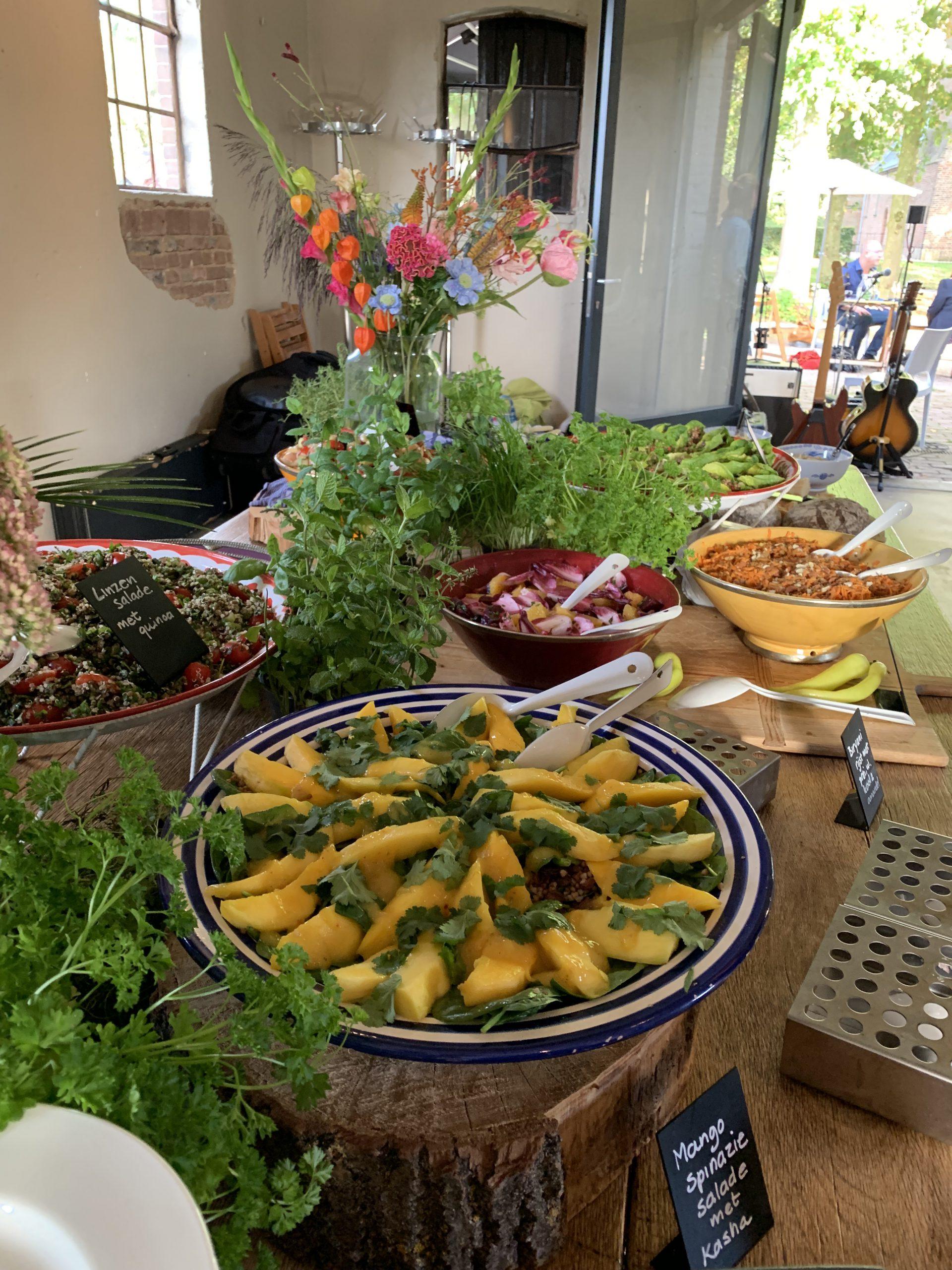 Salades lunch